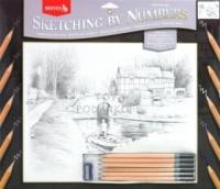 Reeves Набор c графическими карандашами дом у реки
