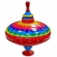 Bolz Юла металлическая Игра красок с дер. ручкой (52240/57227)