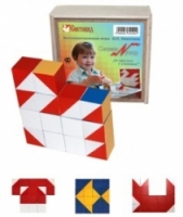 Световид Кубики Сложи узор (коробка-фанера)