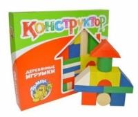 Томик Конструктор Цветной 43 деталей