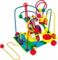 Мир деревянных игрушек Лабиринт-каталка Бабочка малая