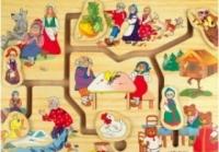 Мир деревянных игрушек Лабиринт  Мир сказки 1  Мир Деревянной Игрушки от 1 года