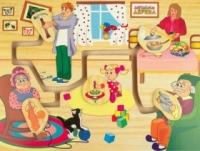 Мир деревянных игрушек  Моя семья  Р 63