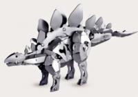 Gakken Конструктор металлический Стегозавр
