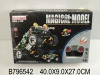 Magical model Конструктор  ру 194 дет. Бронетранспортер. Элементы питания в комплект не входят.