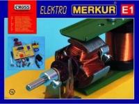 Merkur Металлический конструктор E1  Elektro - Электричество и магнетизм.