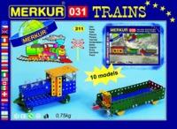 Merkur Металлический конструктор M031, Модели поездов-1