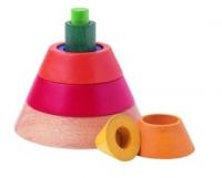 Plan Toys Пирамидка Конус 5313