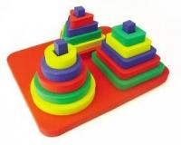 Бомик Пирамида мягкая набор 3 в 1, 320