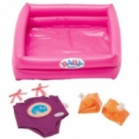 Baby Born Мини-бассейн с аксессуарами 809-655