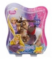 Disney 5069437 Мини-принцесса Рапунцель и лошадь