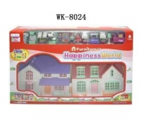 Noname Домик Happiness World 40,5х8х26см 08218