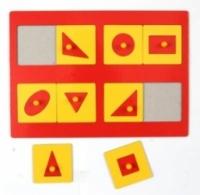 Оксва Рамки-вкладыши Монтессори 1 уровень (эконом)