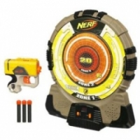 Nerf HASBRO Игровой набор: электронная мишень, бластер, стрелы артикул 25266