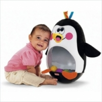 Fisher Price Веселый пингвин Вперед, малыш, вперед М4046