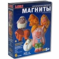 Lori М-019 Магниты деревенские животные