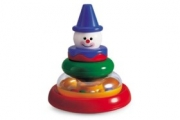 Tolo Toys Круглая пирамидка Клоун 89370