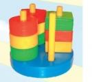 Строим вместе Игра развивающая Логический диск